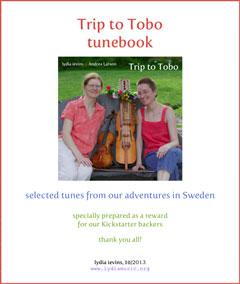 Trip to Tobo tunebook